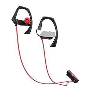 Bluetooth イヤホン ANCREU ウイヤレススポーツイヤホン ノイズキャンセリング マイク付き 軽量金属デザイン 防汗スポーツイヤホン 磁性クリップ付き 10時間の再生時間 Samsung iPhone対応
