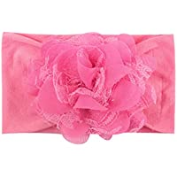 Dolloress Floral Lace Multi Colors Headband Hair Belt Band Clip Girls Ribbon Bow for Kids Toddler Headwear Accessories