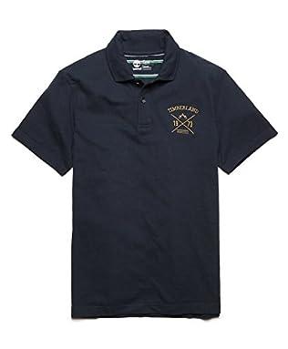 (ティンバーランド)Timberland スティルリバー ジャカード ポロシャツ A18MM