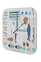 壁時計 Wall Clock Holiday Travel Agency Beach holiday Plexiglass