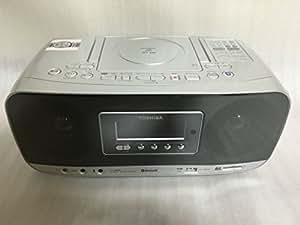 東芝 Bluetooth機能搭載CD/SD/USB対応ラジオ(シルバー)TOSHIBA TY-CWX81(S)