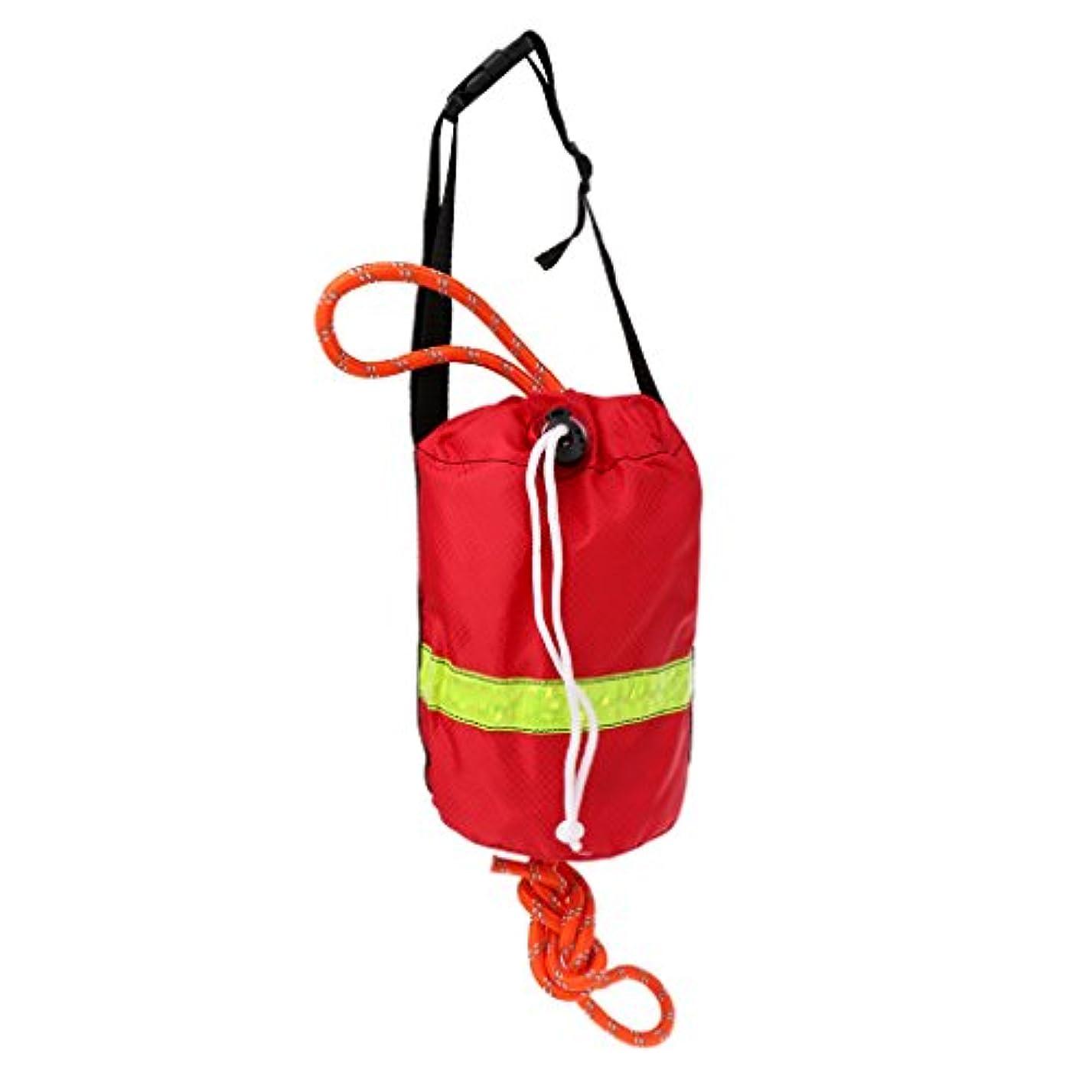 外出非難スリップSM SunniMix 反射性 スローバッグ スローライン ロープ カヤック ボート 水上スポーツ 安全装置 浮遊ロープ 品質保証 全2色2サイズ