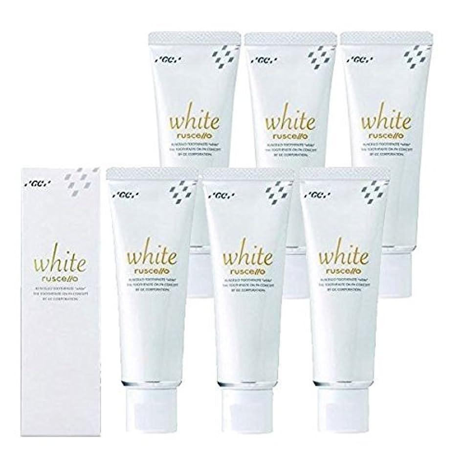 知恵者代数的ルシェロ歯磨きペースト ホワイト 100g×6本 ホワイトニング 歯磨き粉 歯科専売品