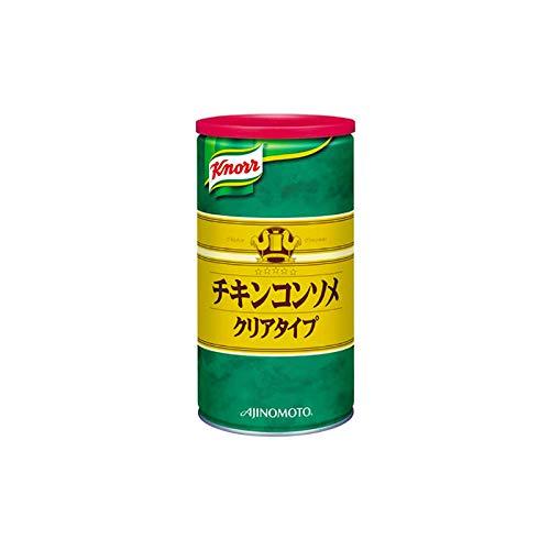 「クノールR チキンコンソメ」クリアタイプ 1kg缶×6