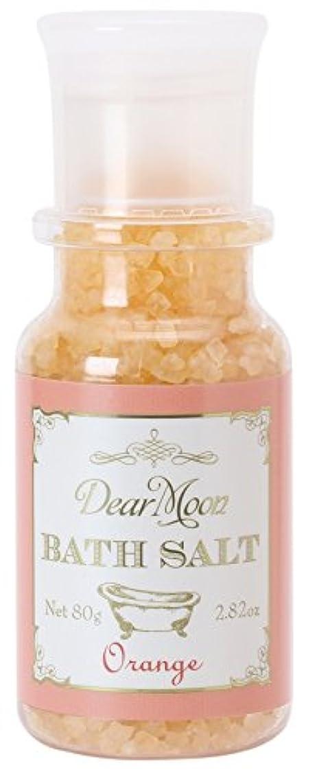 不明瞭一般化する咳ノルコーポレーション 入浴剤 ディアムーン バスソルト 80g オレンジ OB-DMB-1-4