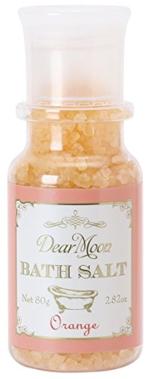 一口議論する無法者ノルコーポレーション 入浴剤 ディアムーン バスソルト 80g オレンジ OB-DMB-1-4