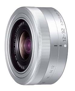 Panasonic マイクロフォーサーズ用 交換レンズ LUMIX G VARIO 12-32mm /F3.5-5.6 ASPH. / MEGA O.I.S. シルバー