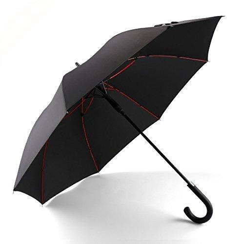 改良耐風構造 Valife 長傘 超軽量 全グラスファイバー材質 撥水耐風 丈夫 大型 自動開けステッキ傘 紳士傘 大きな傘 男性 通勤 通学