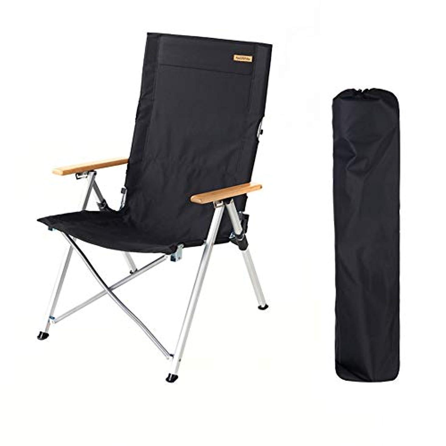 大気無実おばあさんアウトドアチェア アウトドアラウンジチェア、軽量折りたたみチェア、ガーデン/キャンプ/旅行/釣り/ハイキング/ピクニック/公園/屋外での使用