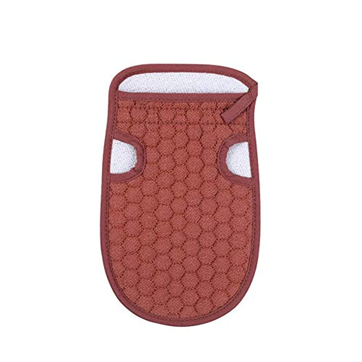 グリル控える治療浴用手袋 あかすり ボディタオル 入浴用品 バス用品 垢すり手袋 毛穴清潔 角質除去 男女兼用