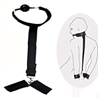 手錠の手の袖口の口のかわいいボールエロチックな拘束のカップルのためのボンテージのおもちゃ
