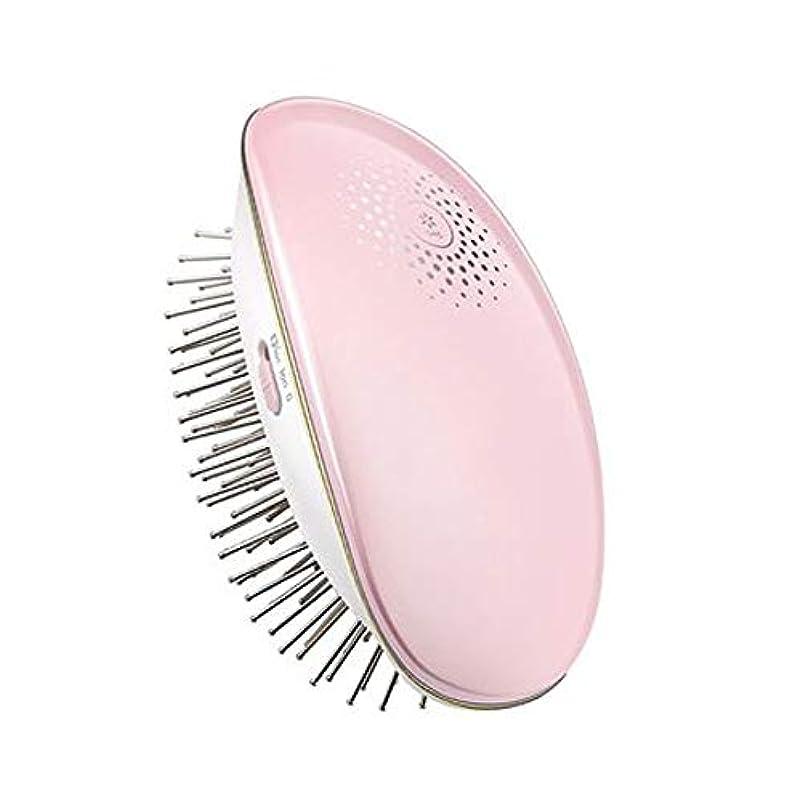ロープ紀元前ガイダンス理髪ツール マイナスイオンエアクッション帯電防止ヘッド磁気療法マッサージワイヤレスポータブル電気くし