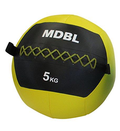 ソフトメディシンボール ウォールボール 『マニュアル付き』 体幹 強化 トレーニング ラバー製 柔らかくキャッチしやすい 【Fungoal】 メディシンボール 5kg