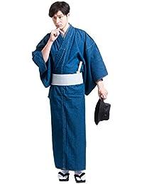 着物 デニム着物 男性用 メンズ お仕立て上がり 洗える着物 木綿 浴衣 紳士用