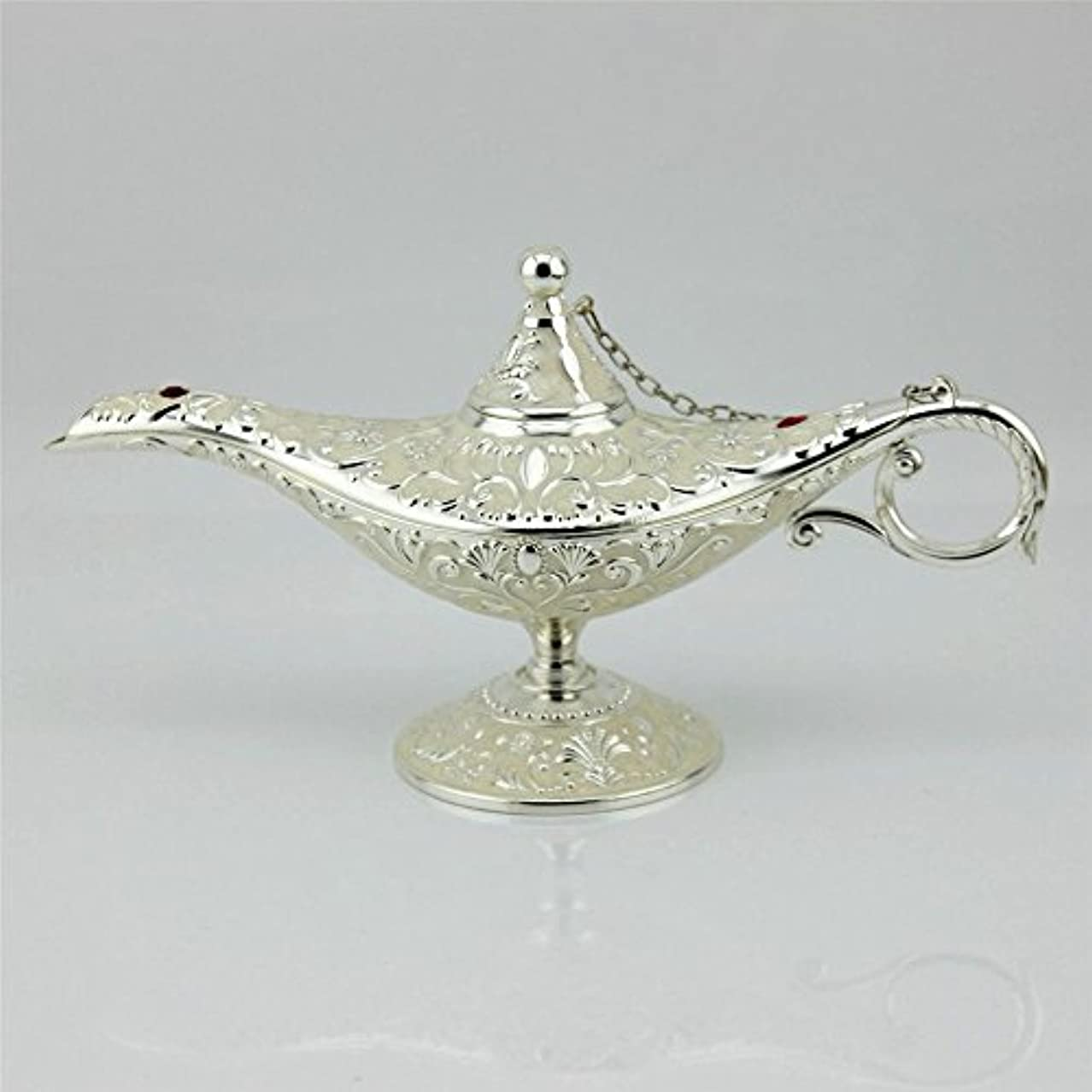 矛盾する敬商業のSY CraftsエナメルメタルAladdin Genie Lamps Incense Burners凡例Aladdin Magic Lamp