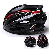 ヘルメット、自転車ヘルメット、高密度EPSキャップ材を使用、ヘルメットの耐衝撃性をワンピース設計で実現、体重わずか245g、頭囲57-61Cmに適しています
