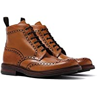 Loake Mens Bedale Leather Boots