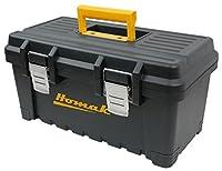 Homak bk00222001プラスチックツールボックスwithメタルラッチ、22インチ、ブラックby Homak Mfg。Co。, Inc。