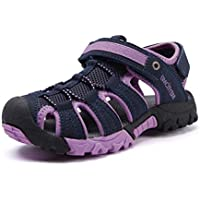 BMCiTYBM Girls Hiking Sandals Sport Outdoor Kid Boys Youth Closed-Toe Shoes