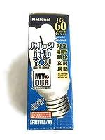 National/Panasonic パルックボールYOU 電球形蛍光灯 60ワット形 3波長形昼光色 EFD13UED/MV