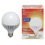 アイリスオーヤマ LEDボール球 E26口金 100W形相当 電球色 下方向タイプ 密閉形器具対応 エコハイルクス LDG16L-G-V2