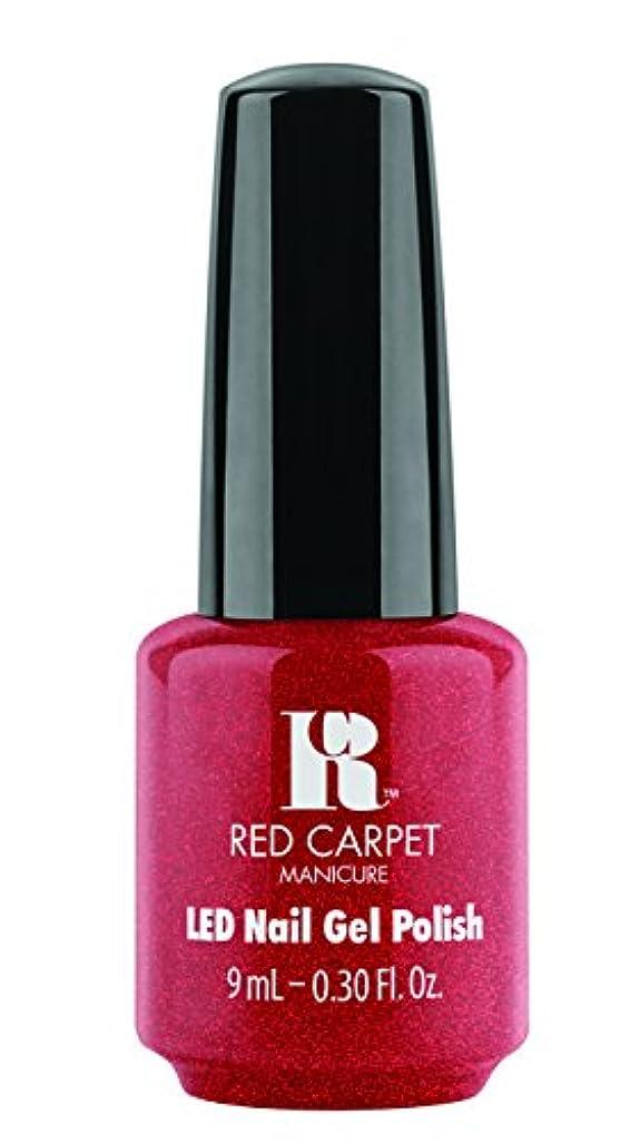 トリッキーマルクス主義メーターRed Carpet Manicure - LED Nail Gel Polish - Only in Hollywood - 0.3oz / 9ml