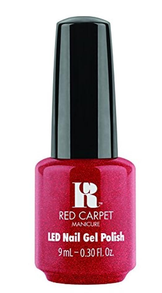 部分的裁定飾り羽Red Carpet Manicure - LED Nail Gel Polish - Only in Hollywood - 0.3oz / 9ml