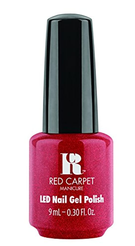 キャラクターリゾート雇ったRed Carpet Manicure - LED Nail Gel Polish - Only in Hollywood - 0.3oz / 9ml