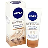 [Nivea ] ダーク50ミリリットルにニベアBbクリーム5 1件の美容における保湿媒体 - Nivea BB Cream 5 in 1 Beautifying Moisturiser Medium to Dark 50ml...