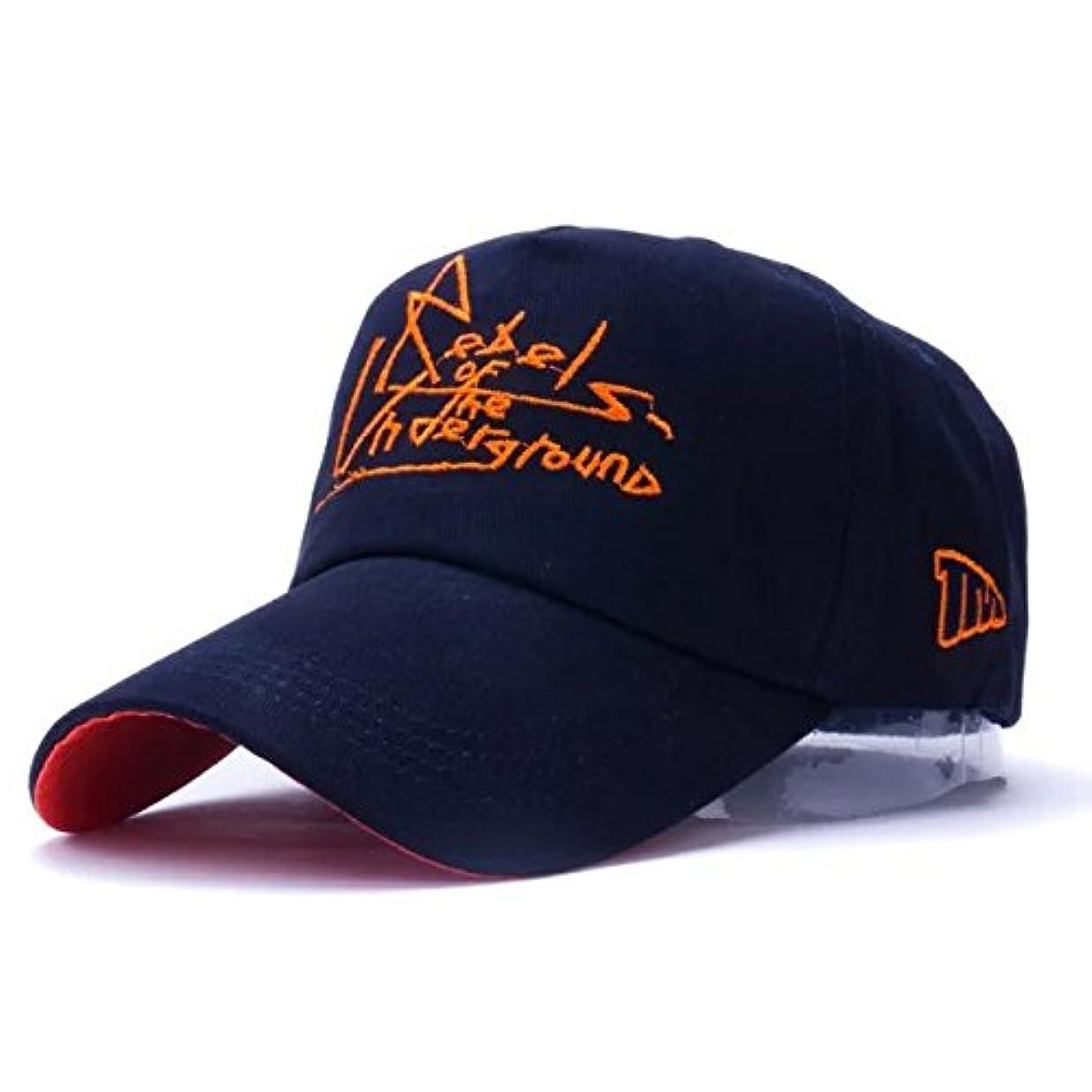 それに応じて振動させる議論するBOWNY 野球帽子 メンズ おしゃれ 帽子 つば長 紺 紫外線対策 刺繍 スポーツ 旅行 自転車 野外 普段使い 遠足 ベースボールキャップ