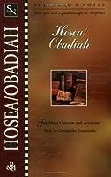 Hosea/Obadiah (Shepherd's Notes)