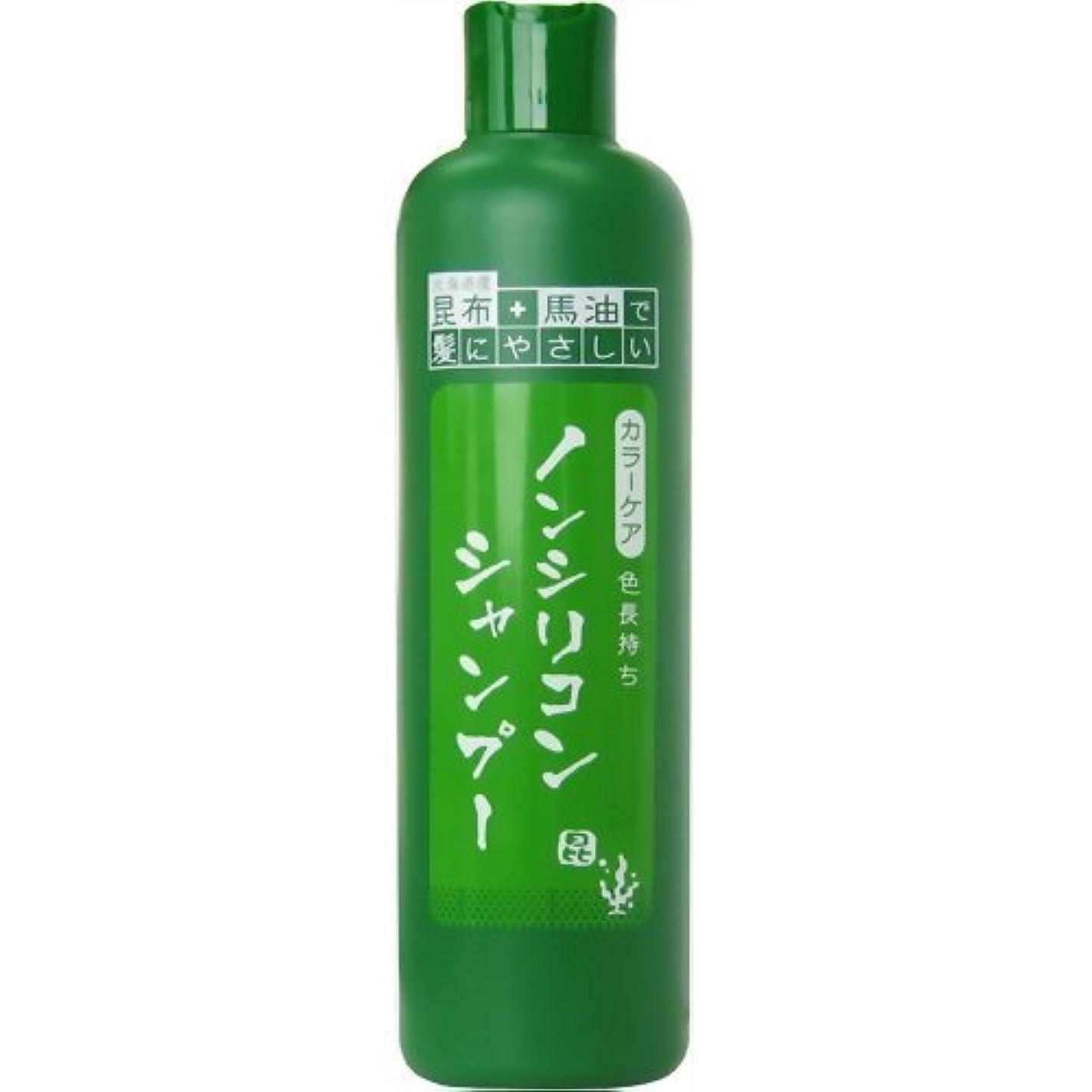 香水まっすぐ具体的に昆布と馬油のノンシリコンシャンプー 300ml