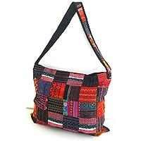 Fair Trade Patchwork Bag, Tote Bag, Shoulder Bag, Handbag for women for the office, travel, school, shopping