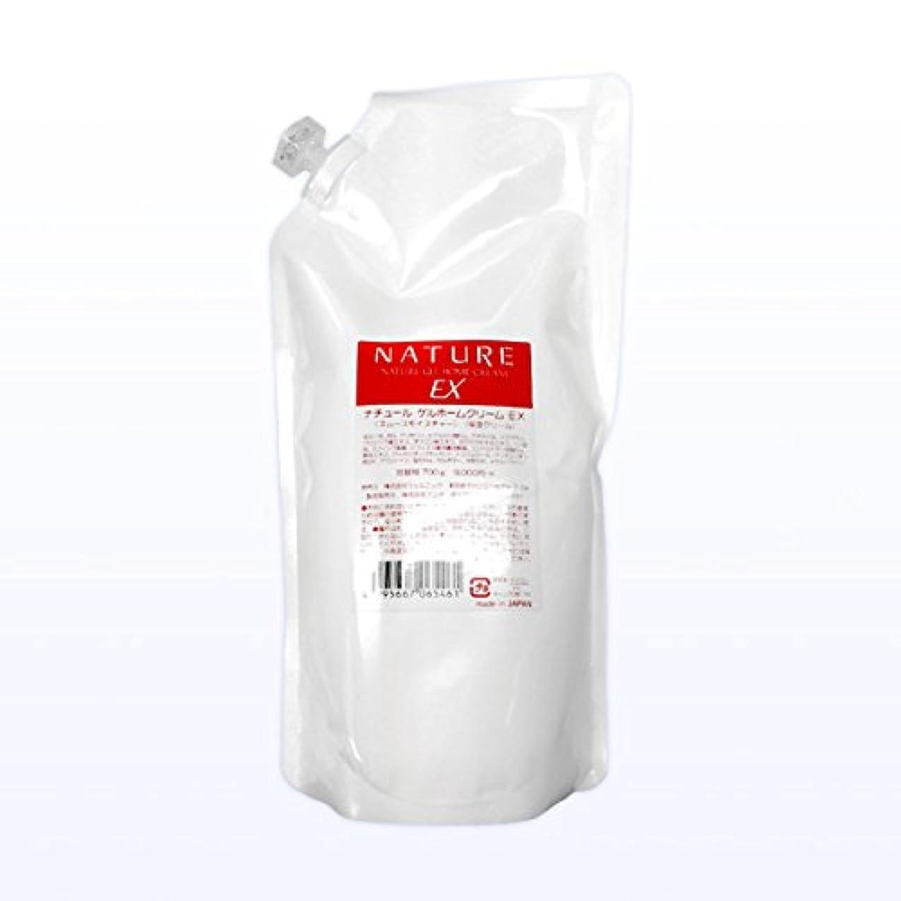 ペンダント要件香りジェルニック ナチュールゲルホームクリームEX 詰換 700g