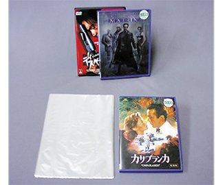 ふしぎなフィルム シュリンクフィルム W170xH240mm 15ミクロン 100枚入(DVD1本用など)