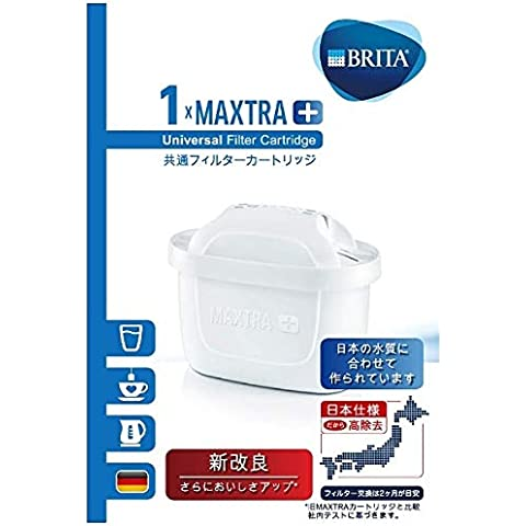 ブリタ 浄水 ポット カートリッジ マクストラ プラス 1個セット 【日本仕様・日本正規品】