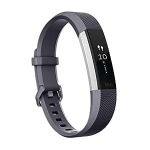 【日本正規代理店品】Fitbit(フィットビット)心拍計+フィットネスリストバンド Alta HR Large BlueGray FB408SGYL-CJK