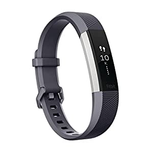 Fitbit フィットビット 心拍計 活動量計 AltaHR 心拍 睡眠 健康管理 スマートブレスレット Blue Gray ブルー グレー Lサイズ FB408SGYL-CJK
