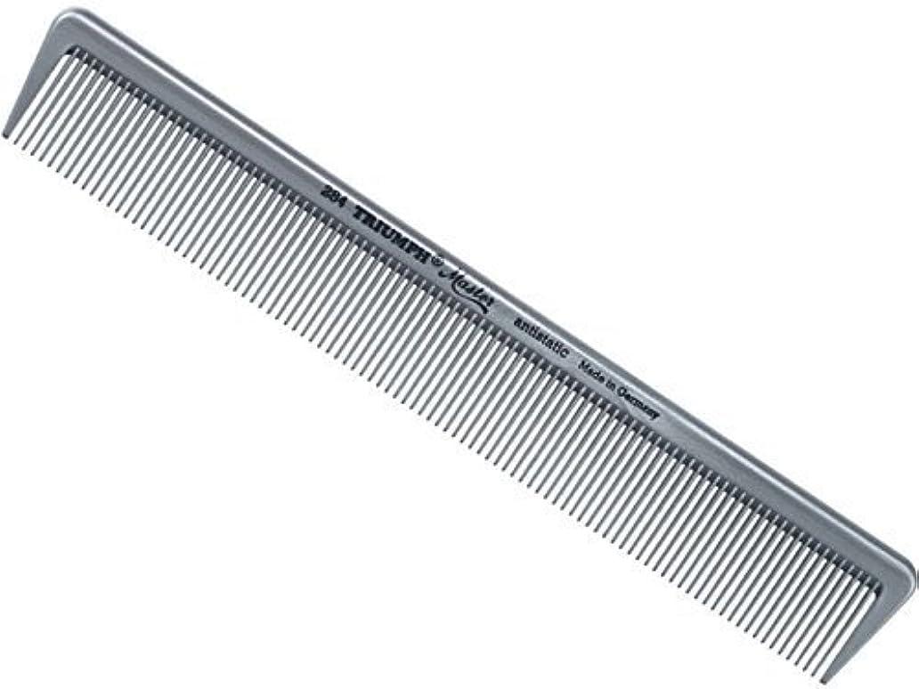 請うホイッスル連続したTriumph Master Hair Cutting Comb All Fine Teeth 7.5