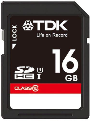 【Amazon.co.jp限定】TDK SDHCカード 16GB Class10 UHS-1対応(最大転送速度30MB/秒) 5年保証 SDHC10UV-16G-FFP