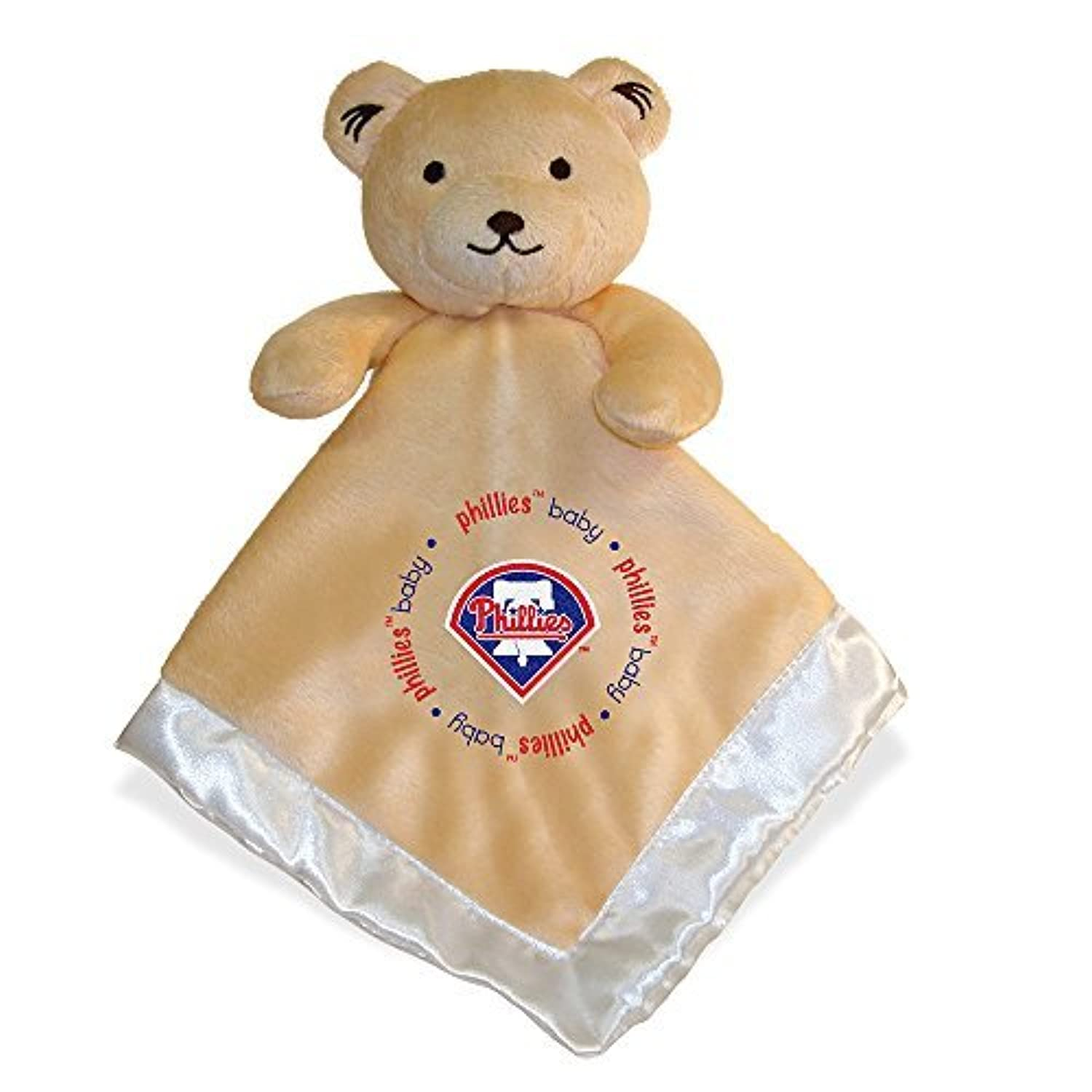 Baby Fanatic Philadelphia Phillies Security Bear Blanket, 14 x 14-Inch by Baby Fanatic [並行輸入品]