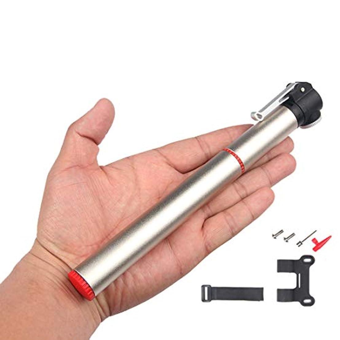 発送サミュエルもっともらしいUSUNO ポータブルポケットポンプ 自転車ポンプ ボールポンプ エアポンプ 仏式と米式バルブに対応 高圧120PSI対応 アルミ合金