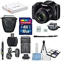 Canon PowerShot sx540はWi - Fi Enabledデジタルカメラand Deluxe Accessory Bundle including 16 GB SDHC +ズームプロテクターケース+テーブル三脚+ AC/DCターボ旅行充電器+ Along With aデラックスバンドル