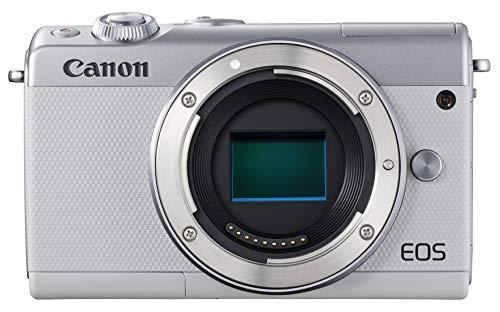 ミラーレスカメラ EOS M100・ボディー (ホワイト) 2210C004 1台