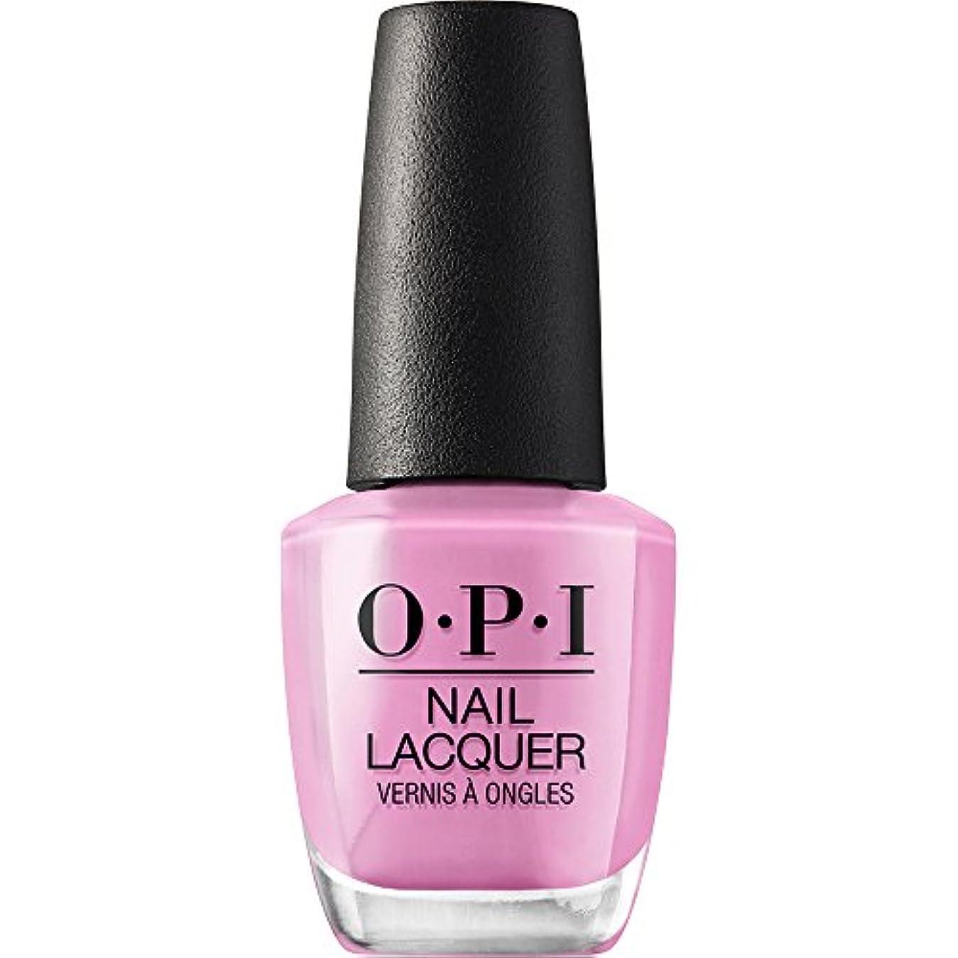 湿気の多いピンク翻訳するOPI(オーピーアイ) NLH48 ラッキー ラッキー ラベンダー