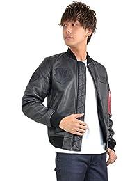 (アルファ インダストリーズ) ALPHA INDUSTRIES INC MA-1 Leather レザージャケット アウター ap-ta1154