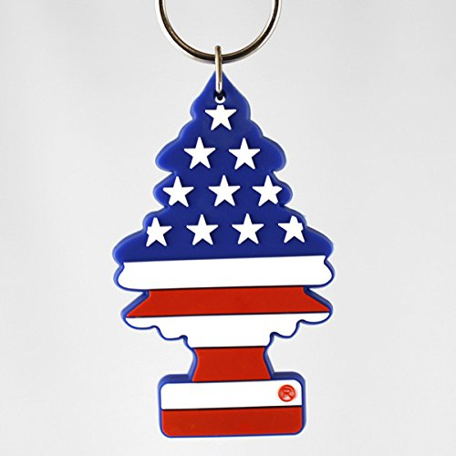 RoomClip商品情報 - リトルツリー PVCキーリング「スターズ&ストライプス」 /Little Trees/キーホルダー/星条旗柄/グッズ/アメリカン雑貨/