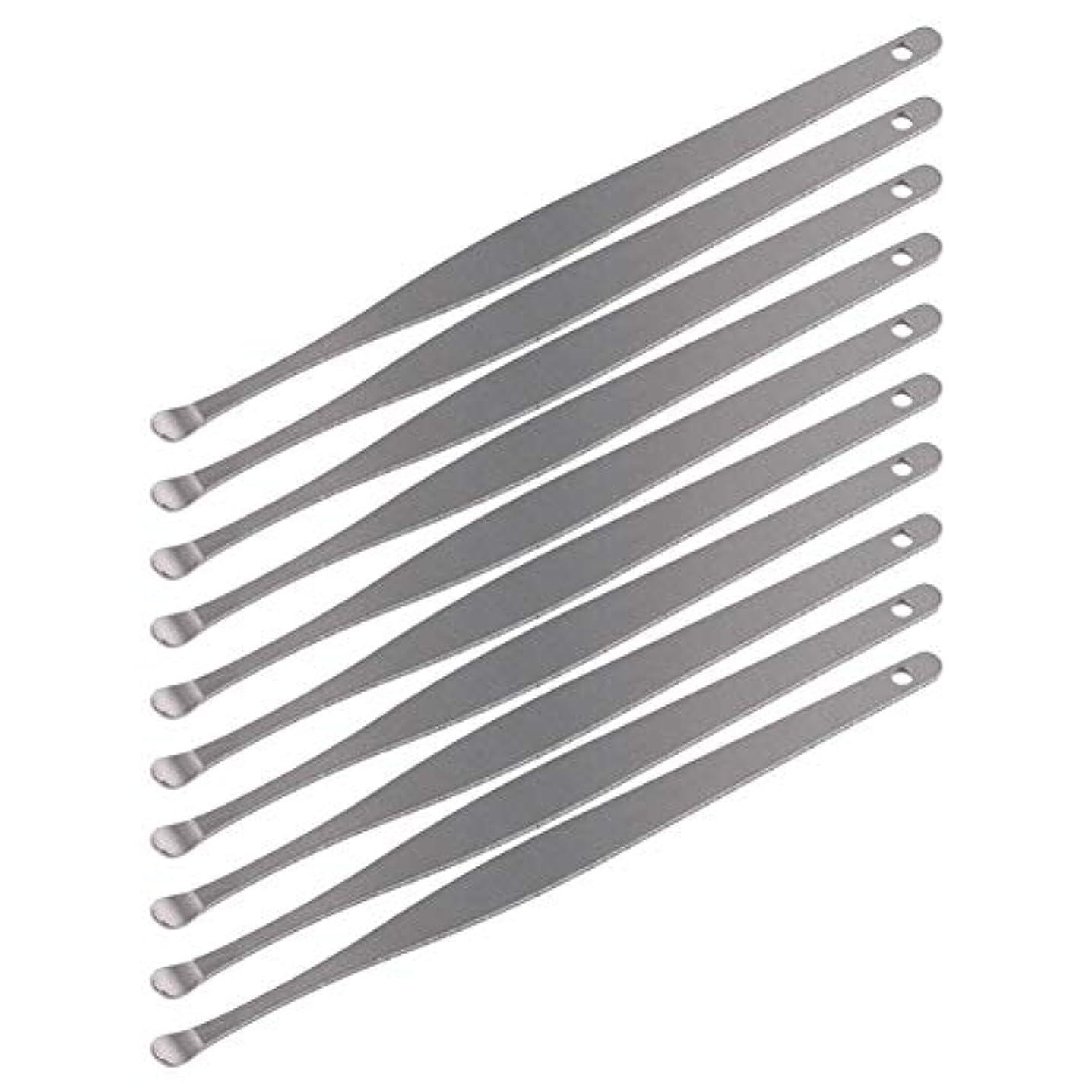 ホイップ複雑残酷なZHQI-GH 3ピースステンレス鋼イヤーピックワックスクリーナーイヤーピックカレットリムーバーイヤーワックス取り外しイヤーケアツール28 (Color : Silver)