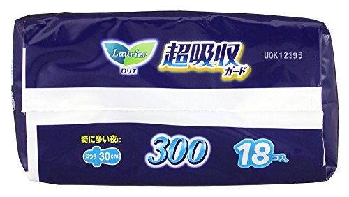 ロリエ 超吸収ガード 300 羽つき 30cm 18コ入日本商品の海外転送購入