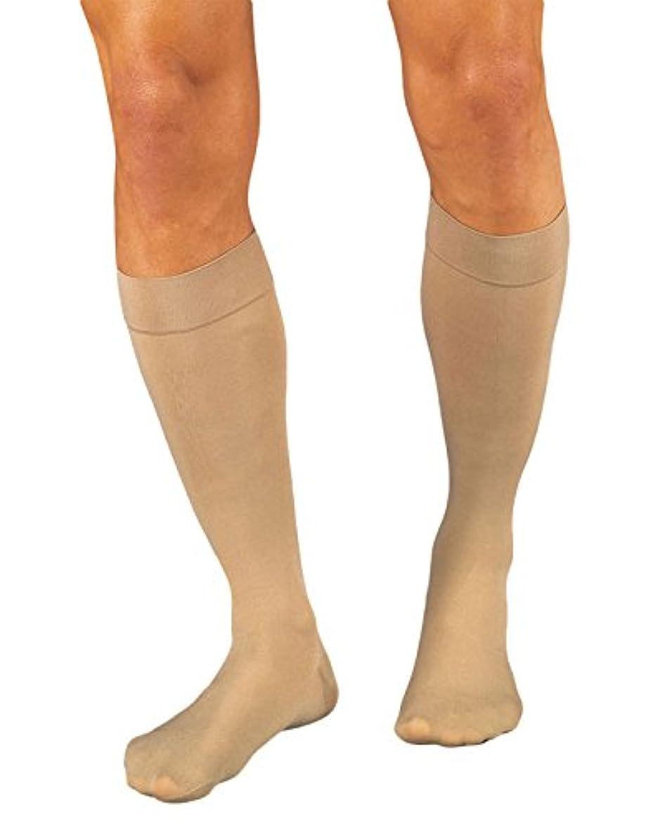 ピケ残基暴君Jobst 114805 Relief 15-20 mmHg Open Toe Knee Highs Unisex - Size- Beige X-Large Full Calf